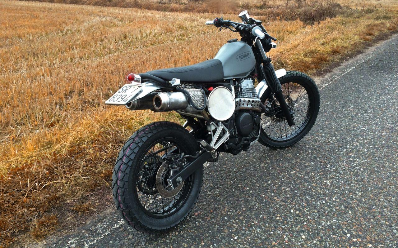 honda nx650 scrambler by aniba motorcycles motorcycles scrambler motos. Black Bedroom Furniture Sets. Home Design Ideas