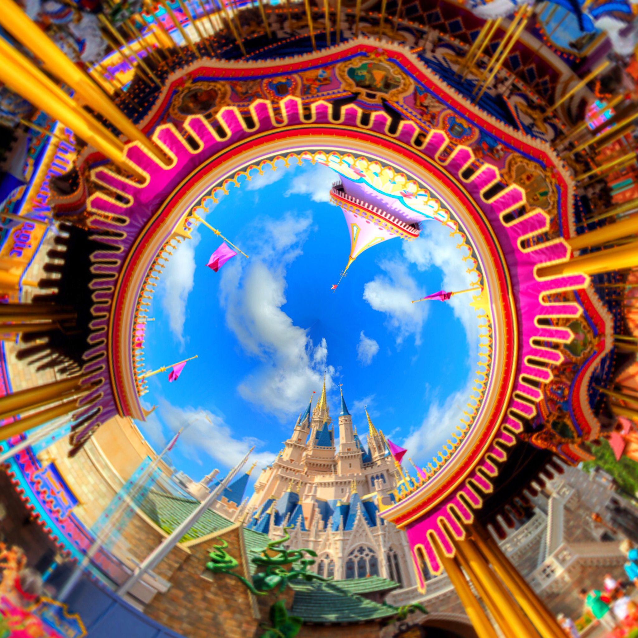 Prince Charming Royal Carousel in Fantasyland -