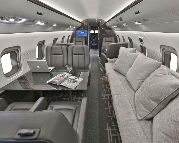 Luxury Private Jets With Stairs Custom Private Jet Interiors