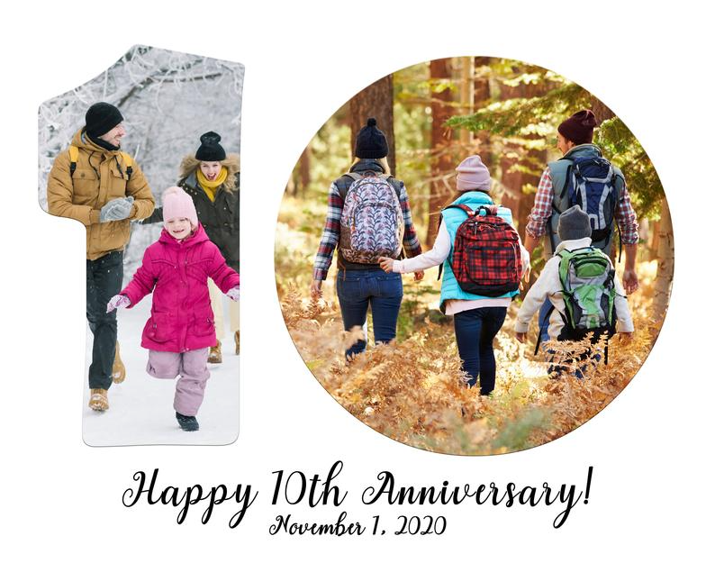 10th Anniversary Gift For Him Wedding Anniversary Gift For Wife 10th Birthday Photo Collage Gift Wedding Gifts Personalized In 2020 Birthday Photo Collage Anniversary Gifts For Him Anniversary Gifts
