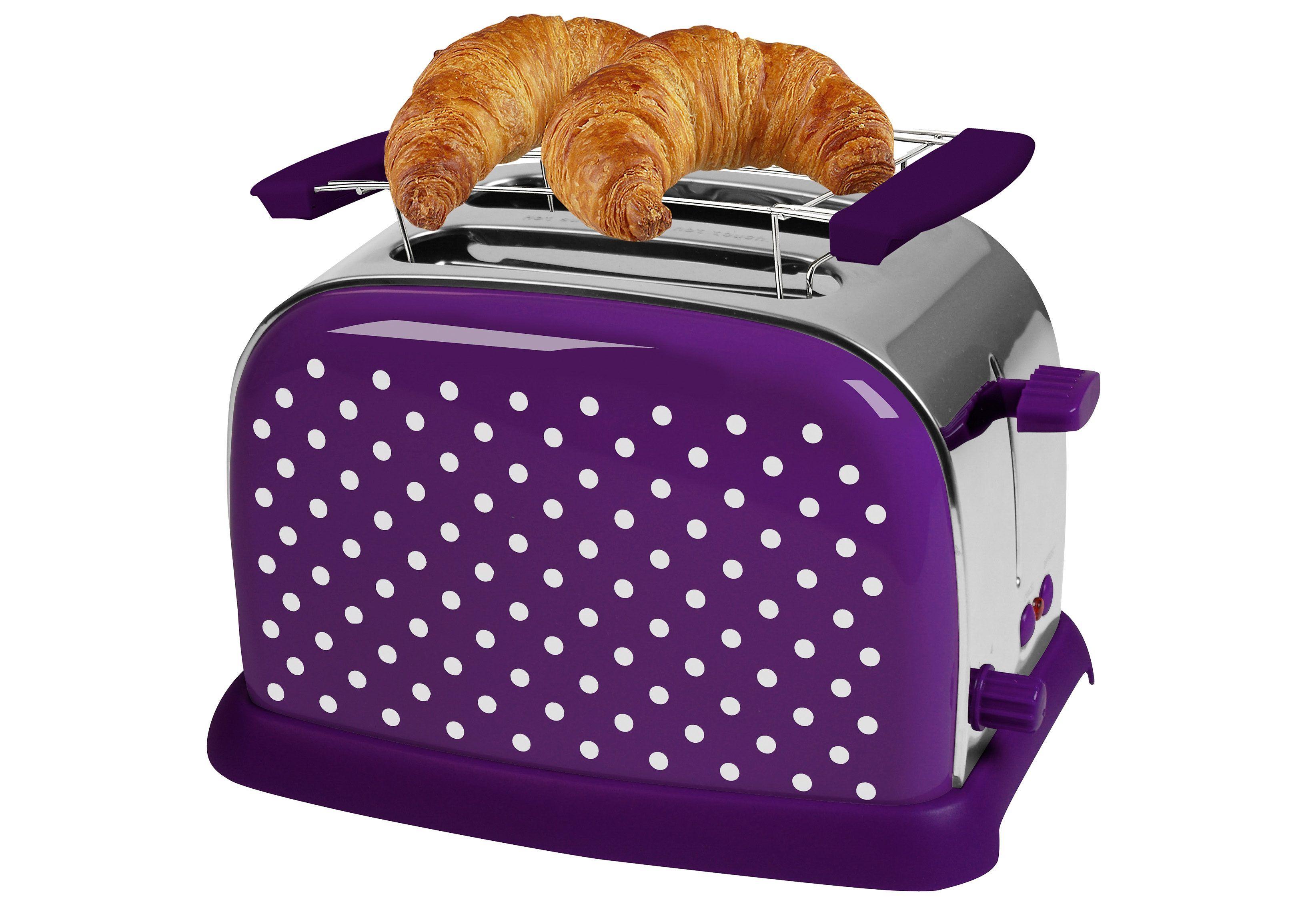 TEAM KALORIK Toaster - Für 2 Scheiben leckeren Toast und das ...