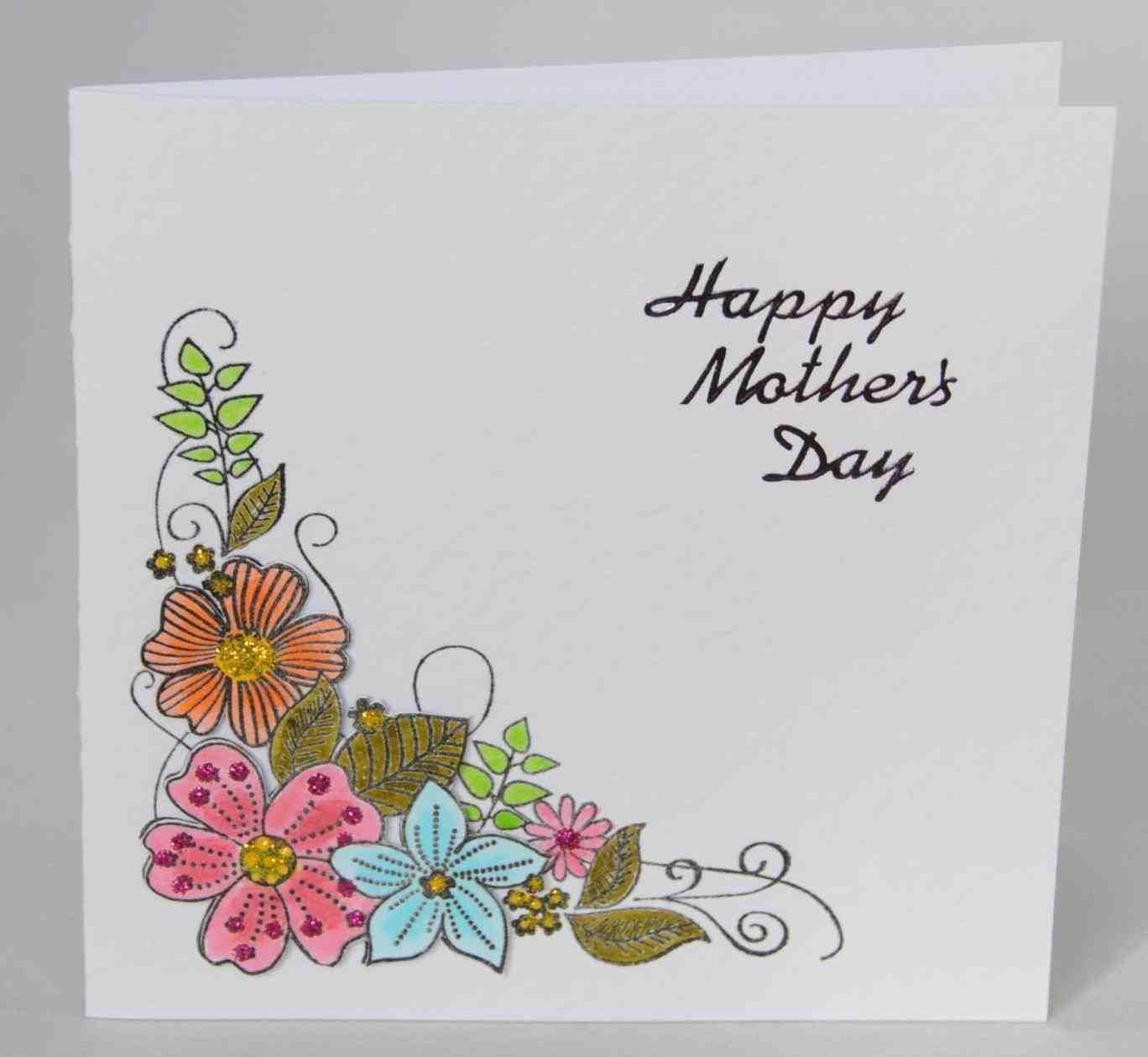 Images Of Homemade Mother S Day Cards Mother S Day Card Happy Mother S Day Card Mom Birthd Birthday Cards For Mother Cards Handmade Birthday Card Template