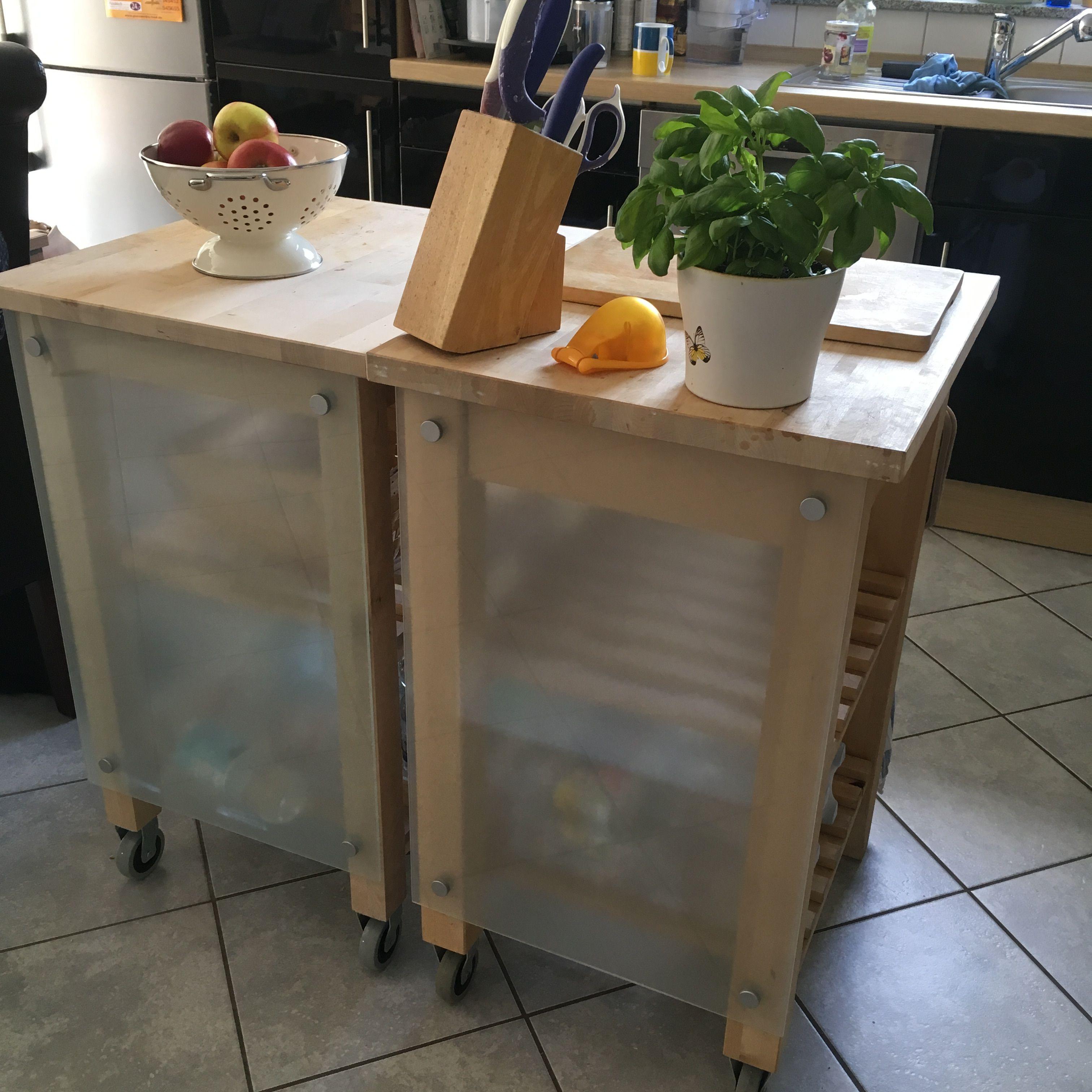 Bekväm Servierwagen ikea bekväm servierwagen kludd notiztafel küchenwagen