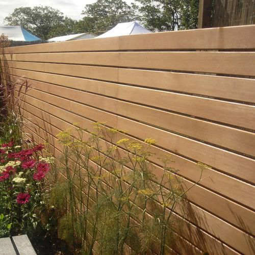 Panel Screening Wooden Western Red Cedar Silva Timber Products