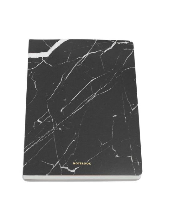 Write in style with this Marble Notebook.