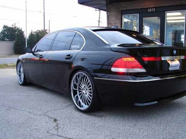 BMW Custombuilt 22s 760Li
