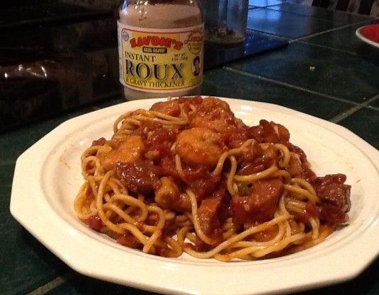 Photo of Shrimp Tasso Pasta  Prep time:  18 mins Cook time:  30 mins Total time:  48 mins…
