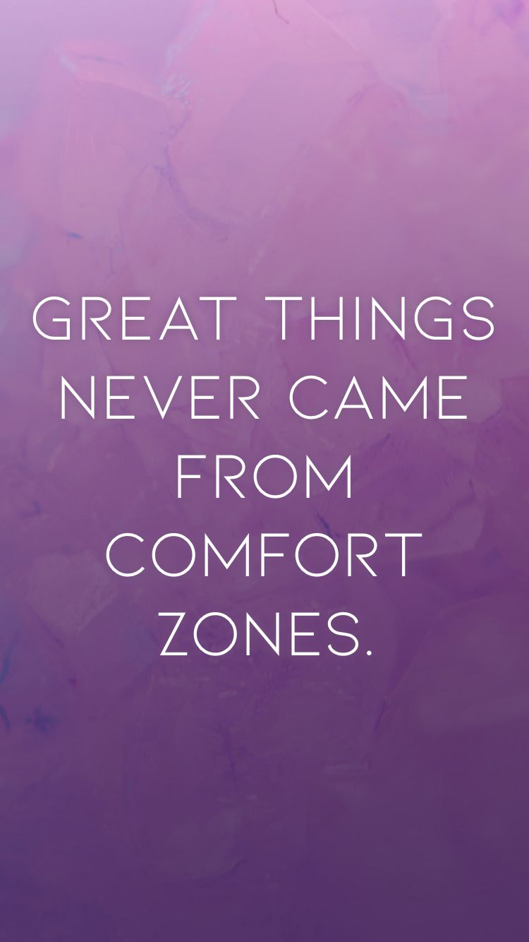 Great Things Never Came From Comfort Zones From The Motivation App Http Itunes Apple Com App Id876080126 Pt 119655 In 2020 Motivation App Comfort Zone Motivation