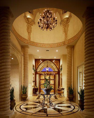 Decor ديكورات مدخل المنازل من الداخل House Styles House Design Exterior Design