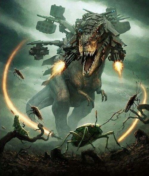 realistic Cyberpunk Rex