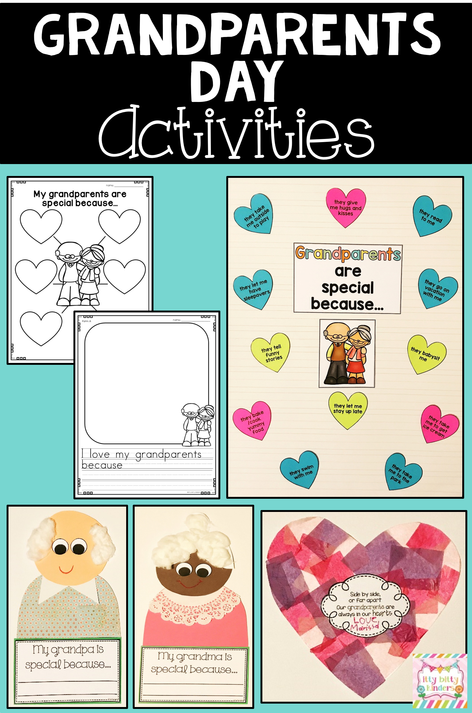 This Easy To Use And Engaging Grandparents Day Mini Unit