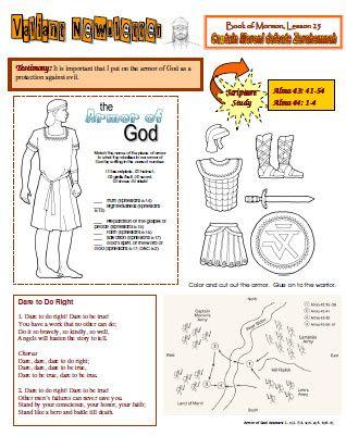 Valiant Newsletter Lesson 25 Children S Ministry Lesson