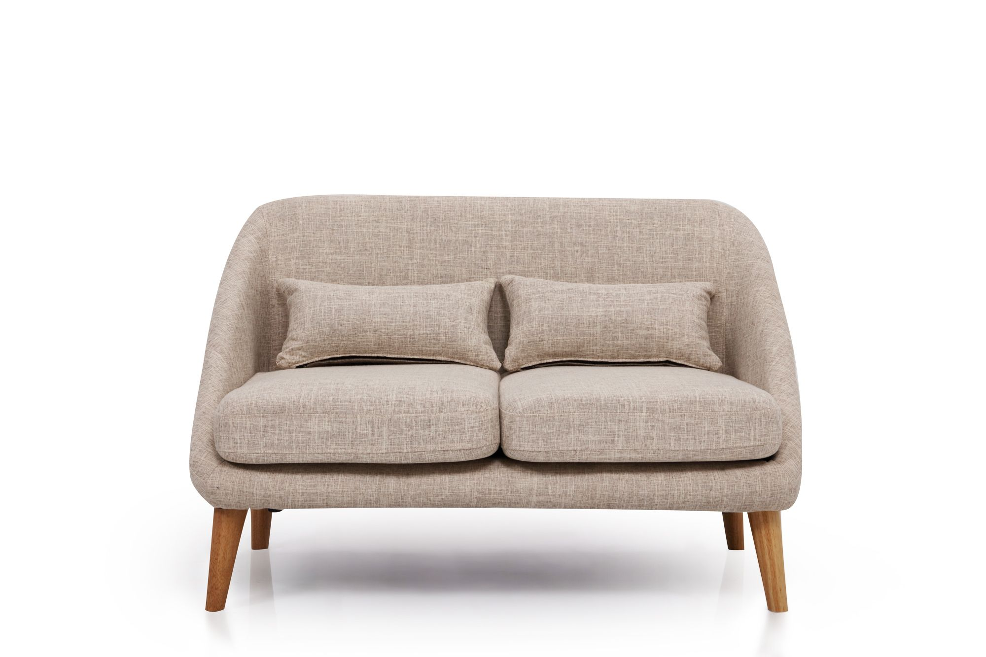 Grey Fabric Two Seater