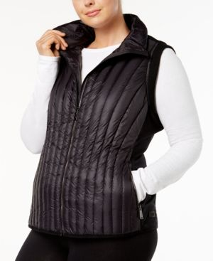 a63f702aabf11 CALVIN KLEIN PERFORMANCE PLUS SIZE QUILTED VEST.  calvinklein  cloth