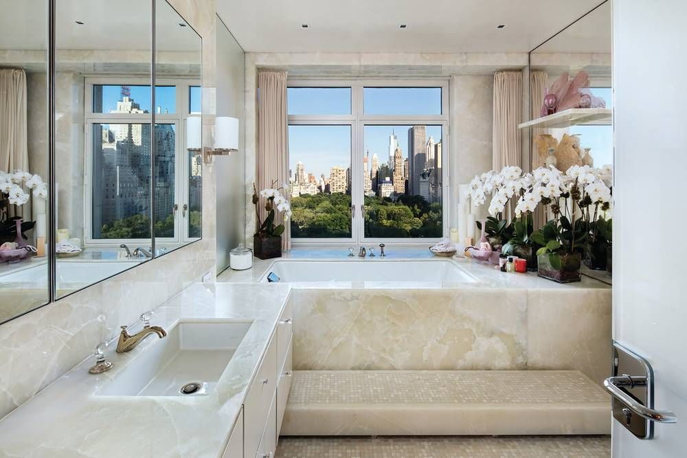 Central Park Bathrooms sting's justsold penthouse is a rockstarworthy pad | penthouses