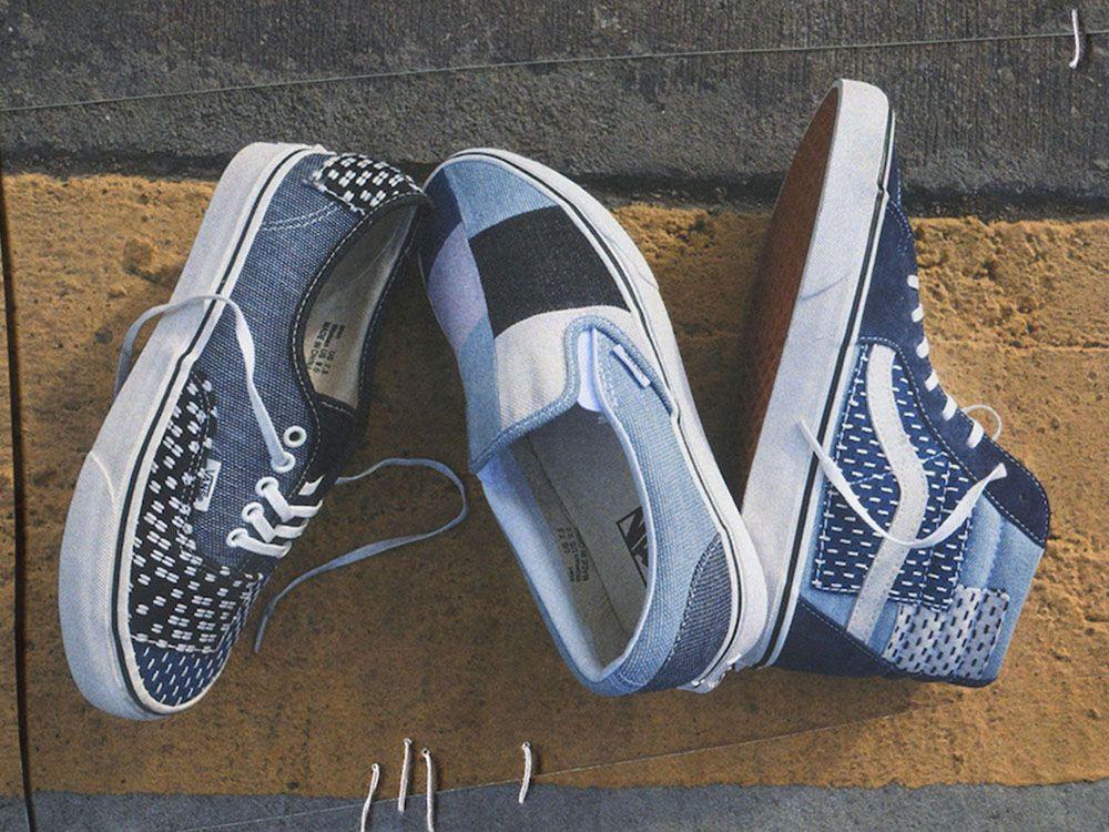 nowe przyloty szczegóły dla nowe wydanie Vans prezentuje nowy zestaw Patchwork Denim Pack | sneaker ...