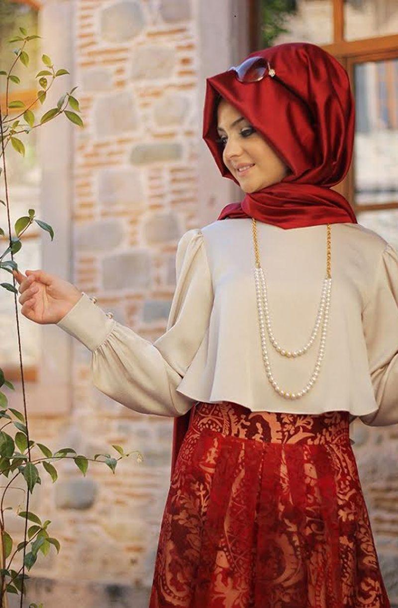 Pınar Şems - Pelerinli Gömlek Krem