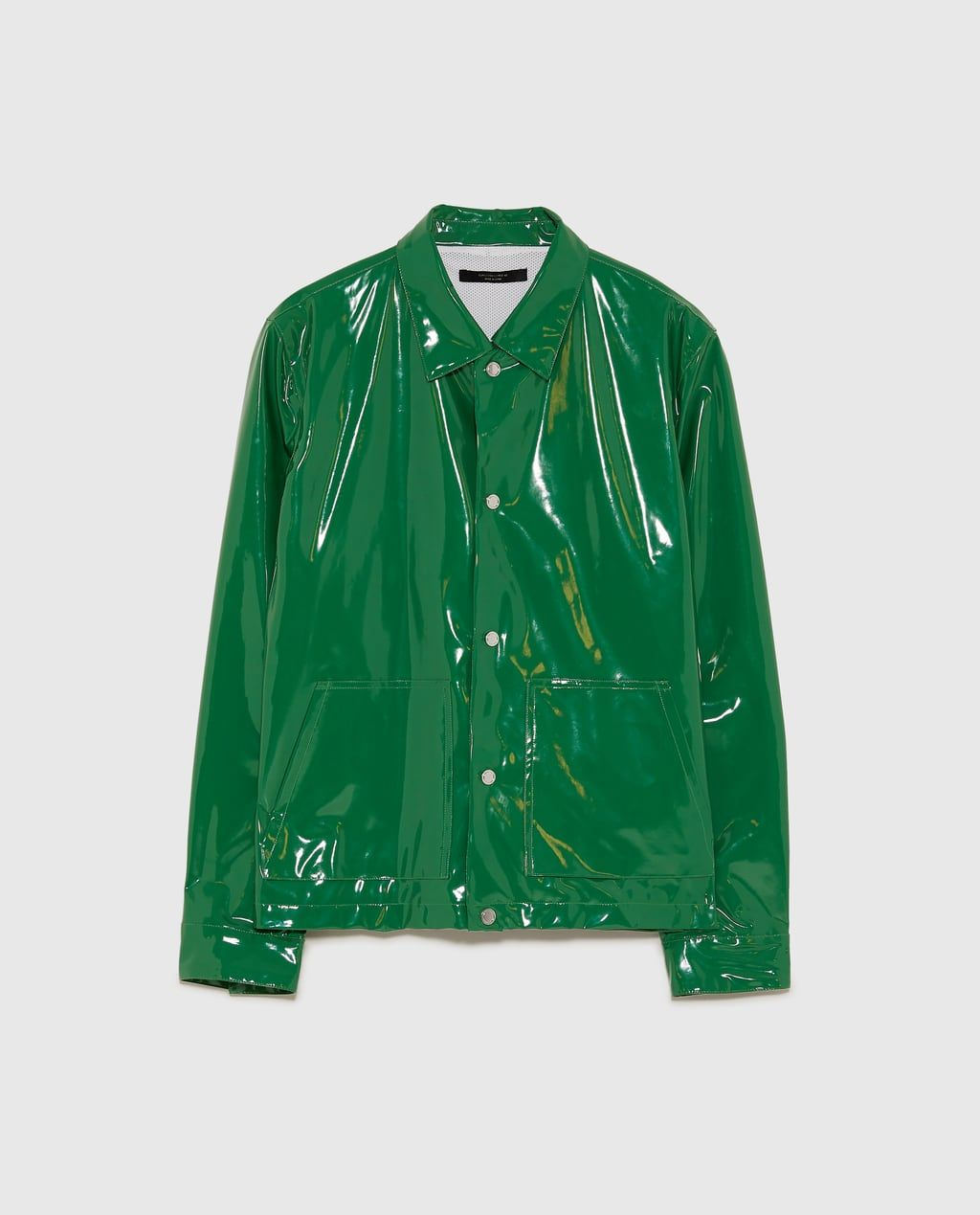 65ab1d4e Image 6 of SHINY GREEN JACKET from Zara | :|<- | Gucci outfits ...