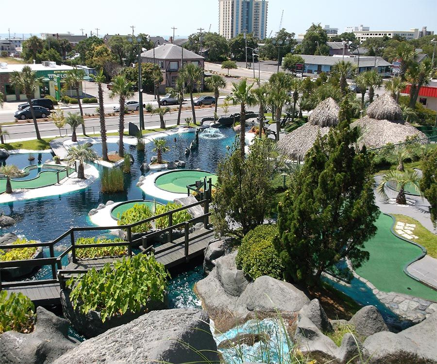 Mt Atlanticus Golf Courses Best Place To Play Mini Golf With Friends And Family While Having An Adventure In The Myrtle Beach Trip Myrtle Beach Beach Trip