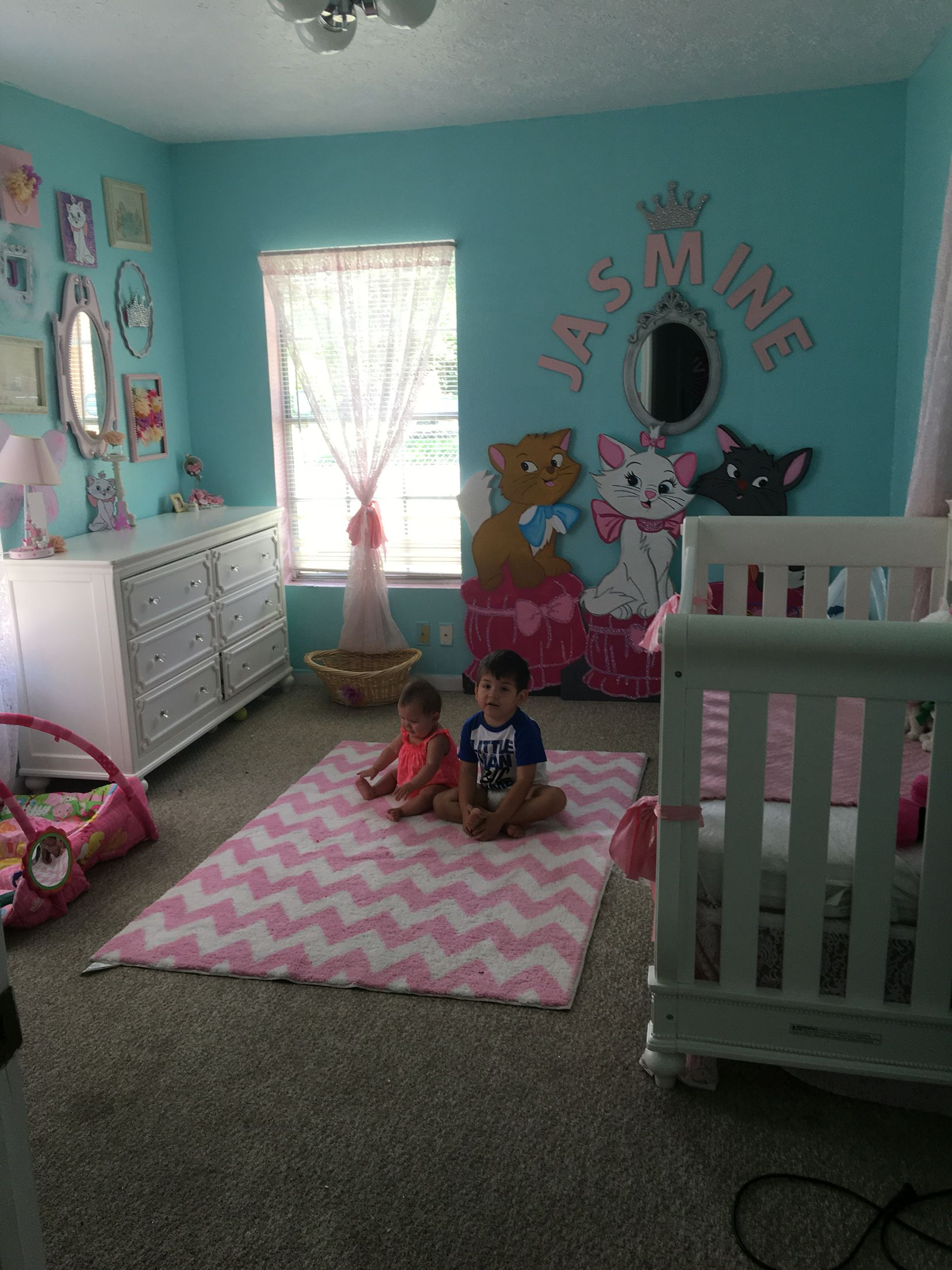 Diy Marie room Disney aristocratics room | Aristocats Marie room ...