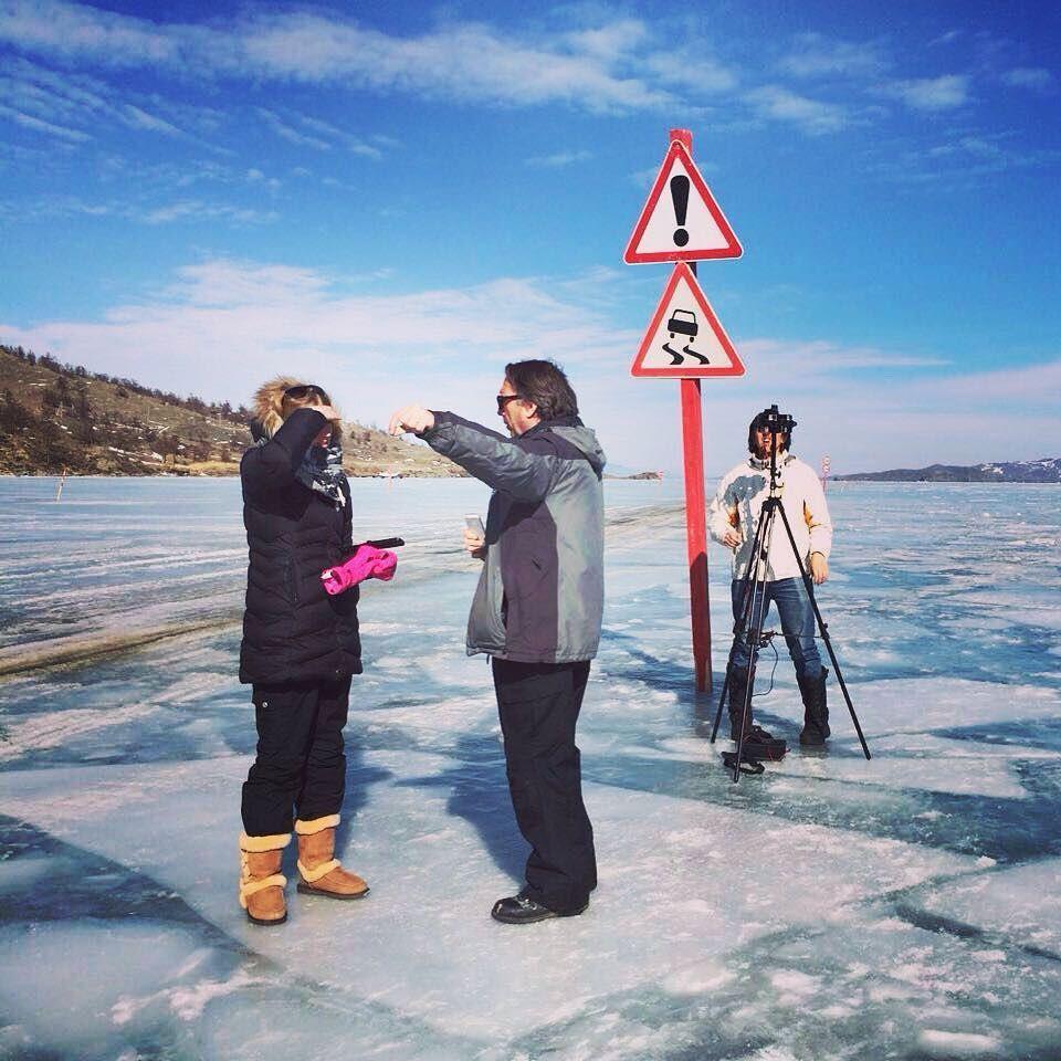 "An awesome Virtual Reality pic! Режиссёр сказал ""туда"" значит туда. По льдинам по торосам по бездорожью - добраться и снять  #vr360 #стереопанорама #gopro #virtualreality by gigapano.ru check us out: http://bit.ly/1KyLetq"