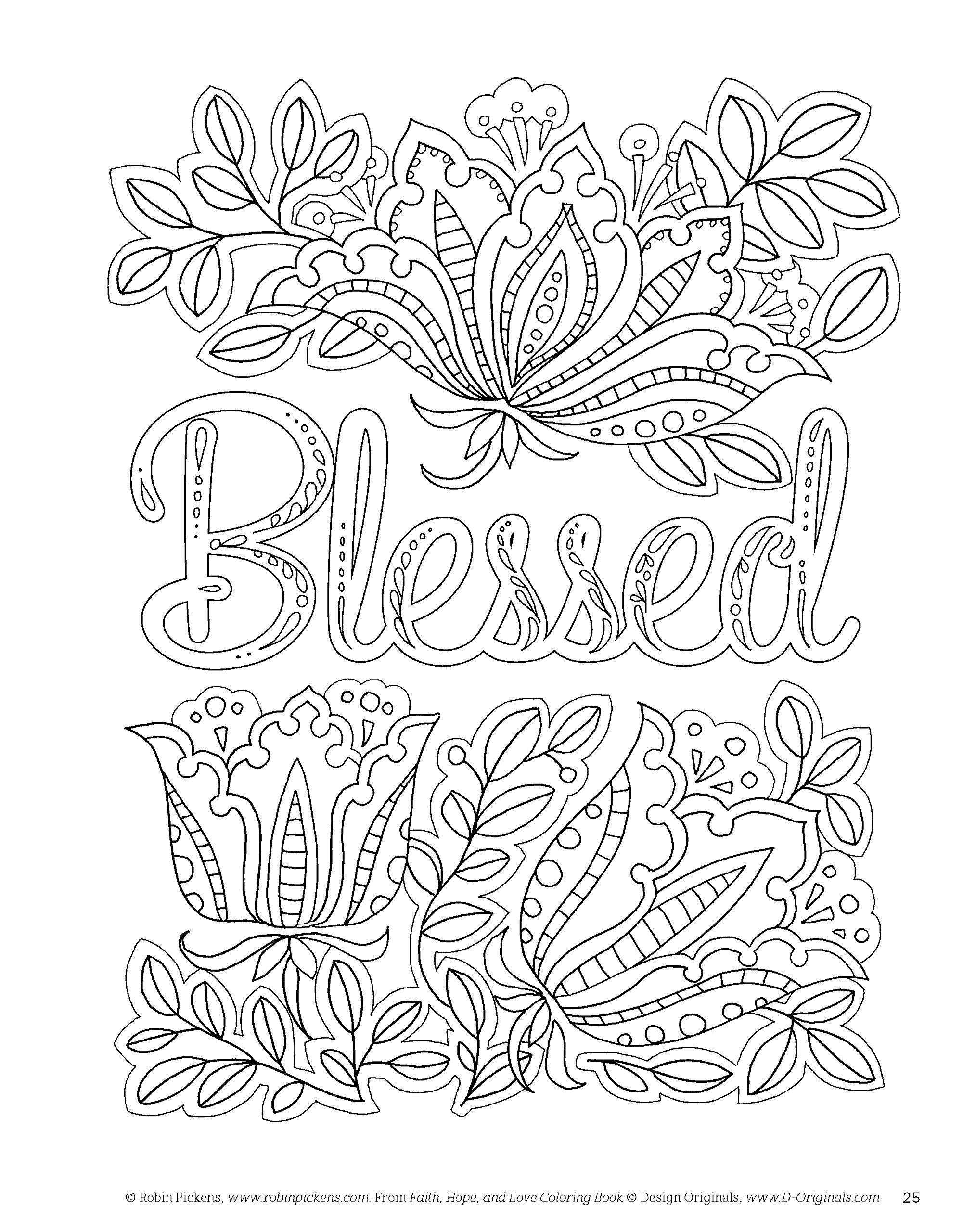 Amazon Faith Hope And Love Coloring Book Creative