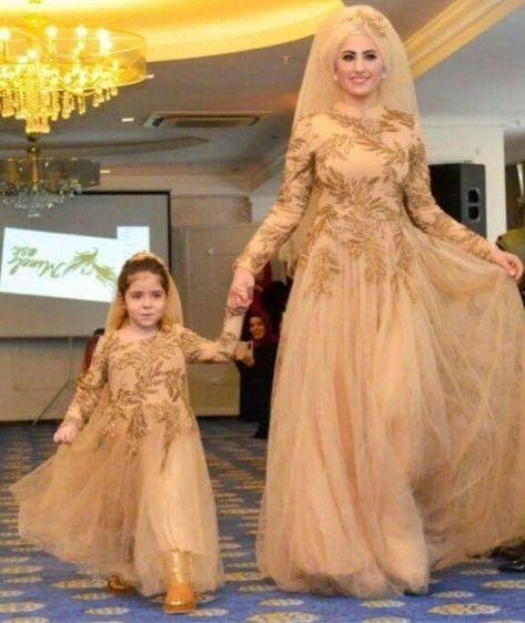 Anne Kiz Dugun Abiye Kombinleri Mother Daughter Fashion Mother Daughter Outfits Mommy Daughter Dresses