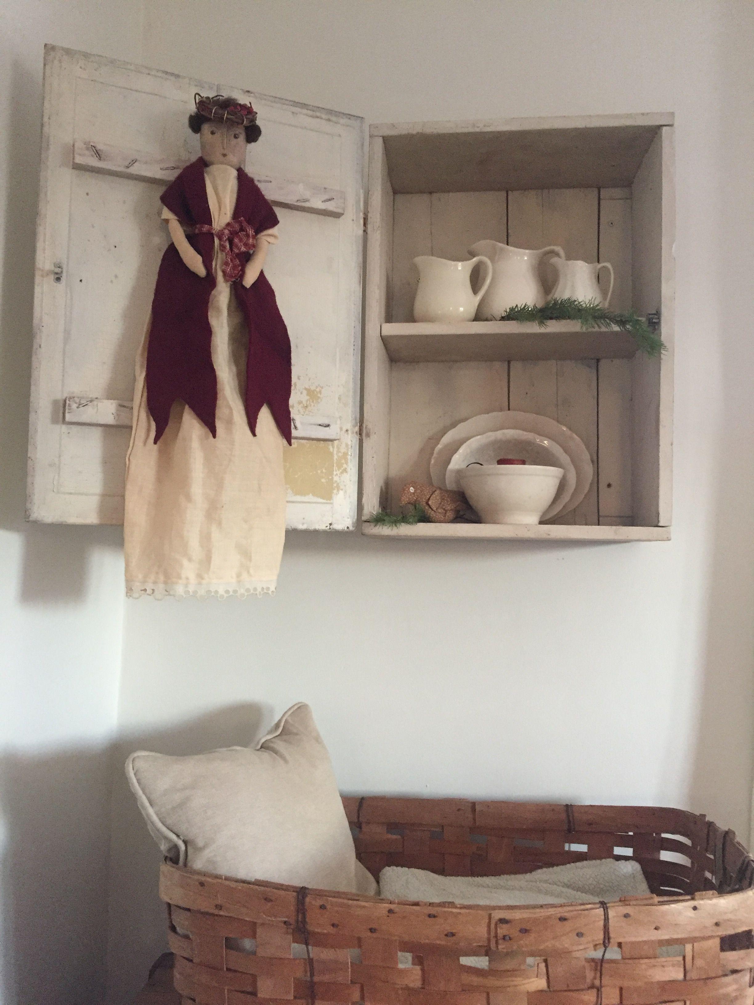 My 1886 Farmhouse Home decor, Decor, Corner bookcase