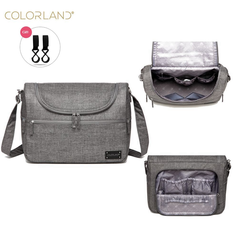 a05053a0bb Colorland Brand Baby Bags Messenger Large Diaper Bag Organizer Design Nappy  Bags For Mom Fashion Mother Maternity Bag Stroller Price: 36.49 & FREE  Shipping ...