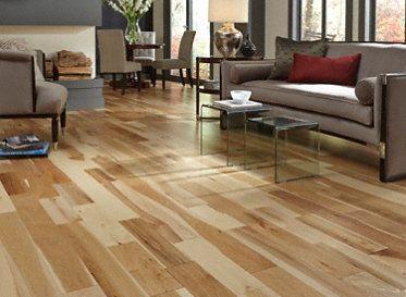 3 4 X 5 Matte Hickory Natural Hardwood Floors Flooring