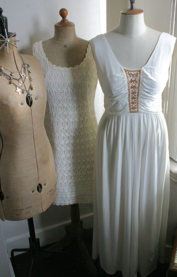 Vintage 1960's Grecian Draped Maxi Dress by DressShopNamedDesire AKA #FrocksAFloat