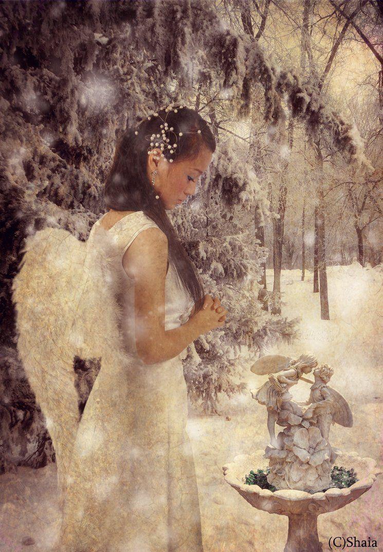 Angel Melanchony by ~shaia83