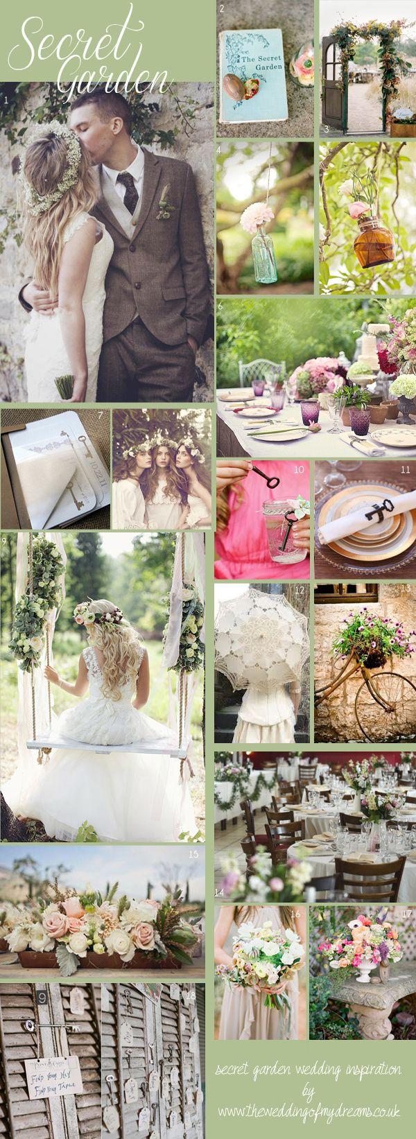 Secret Garden Theme: Secret Garden Wedding Decorations & Inspiration