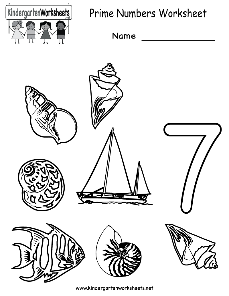 Kindergarten Prime Numbers Worksheet Printable Worksheets Legacy