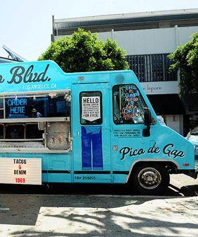 Gap Debuts Pico De Gap Taco Truck Food Truck Design Food Truck
