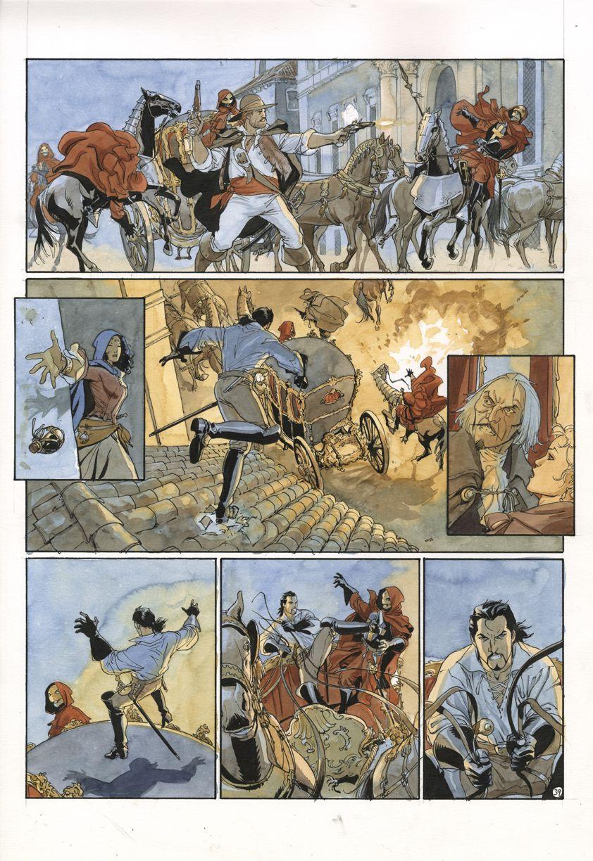 Le Scorpion #7 by Enrico Marini - Comic Strip