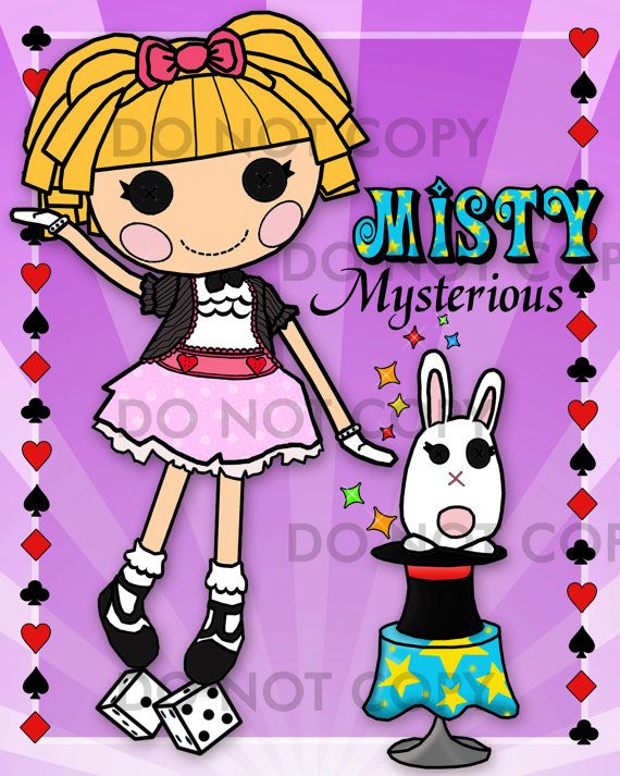 misty mysterious | Lalaloopsy | Pinterest | Ilustraciones y Accesorios
