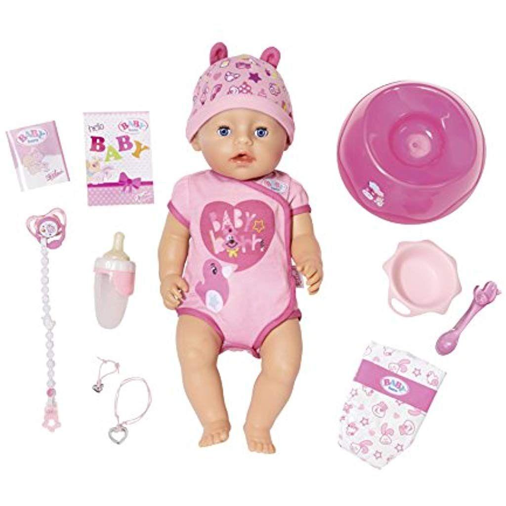 Zapf Creation 824368 Baby Born Soft Touch Girl Blue Eyes Puppe Bunt Spielzeug Spiele Brettspiele Spielzeug Party Zapf Creation Baby Puppen Baby Born Puppe