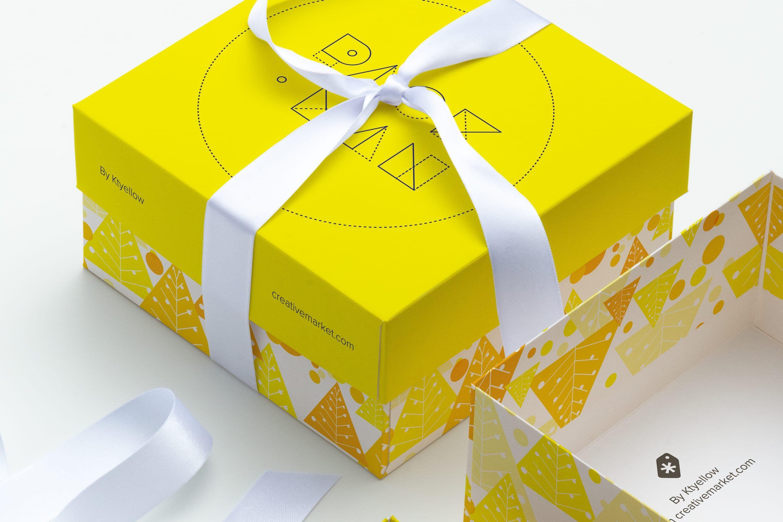 Download Big Gift Box Mockup 02 | Box mockup, Mockup free psd, Big ...
