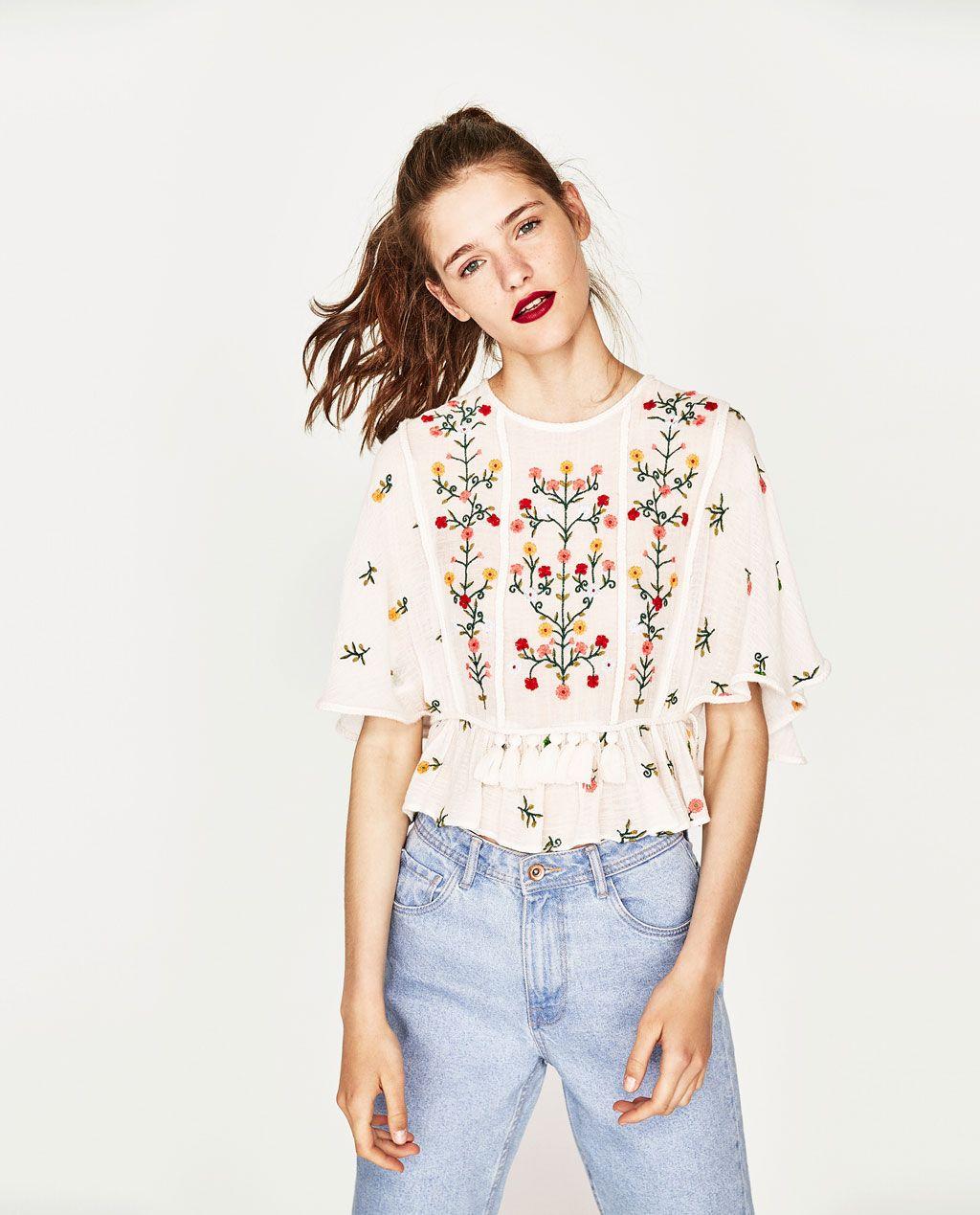 Pin de Karen Julieth en 2018 Colorada | Pinterest | Bordado, Camisas ...