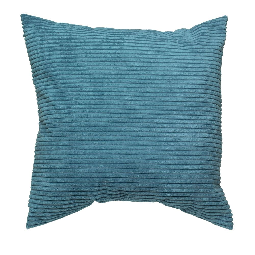 Dark Teal Jumbo Cushion 55 x 55cm Teal cushions