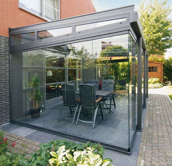 Glass Patio Rooms From Weinor Glasoase With Images Outdoor