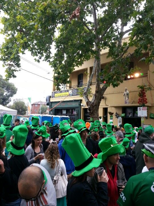 St Patrick's Street Party, The Quite Man.