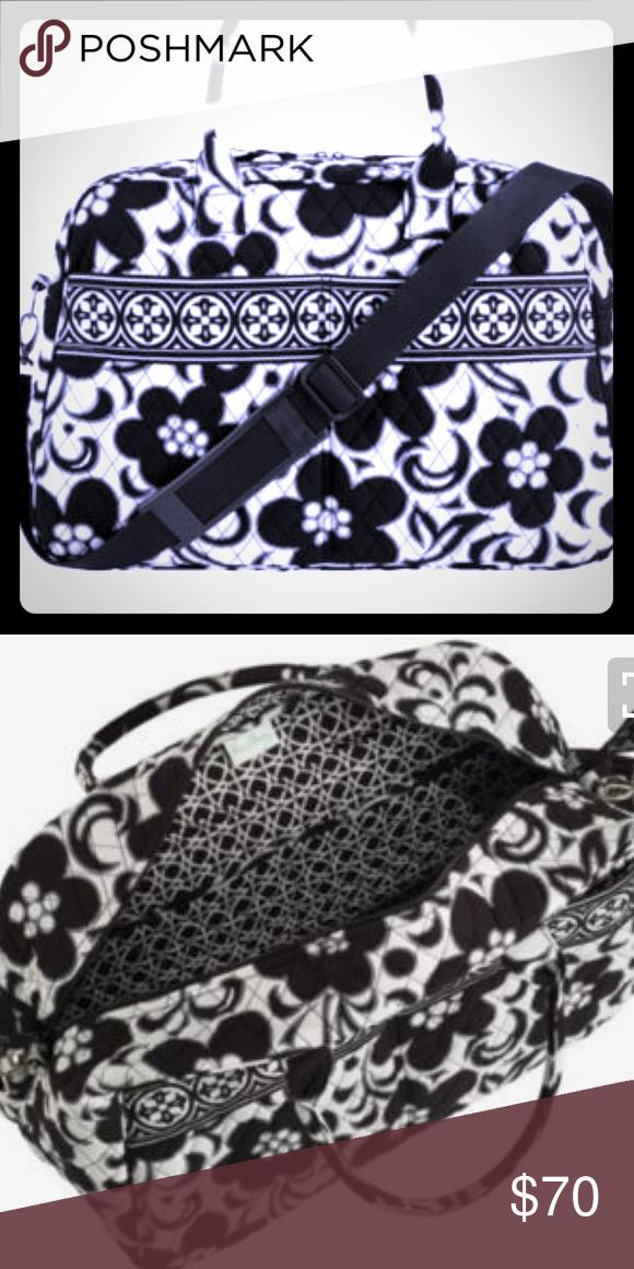 Vera Bradley Weekender Bag Never Used. Era Bradley weekender bag. Has laptop pocket with secure velro strap in. Comfortable shoulder strap. Vera Bradley Bags Travel Bags