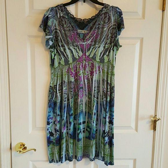 Unity World Wear dress Very cute, stretchy fabric. Feels great! Dresses