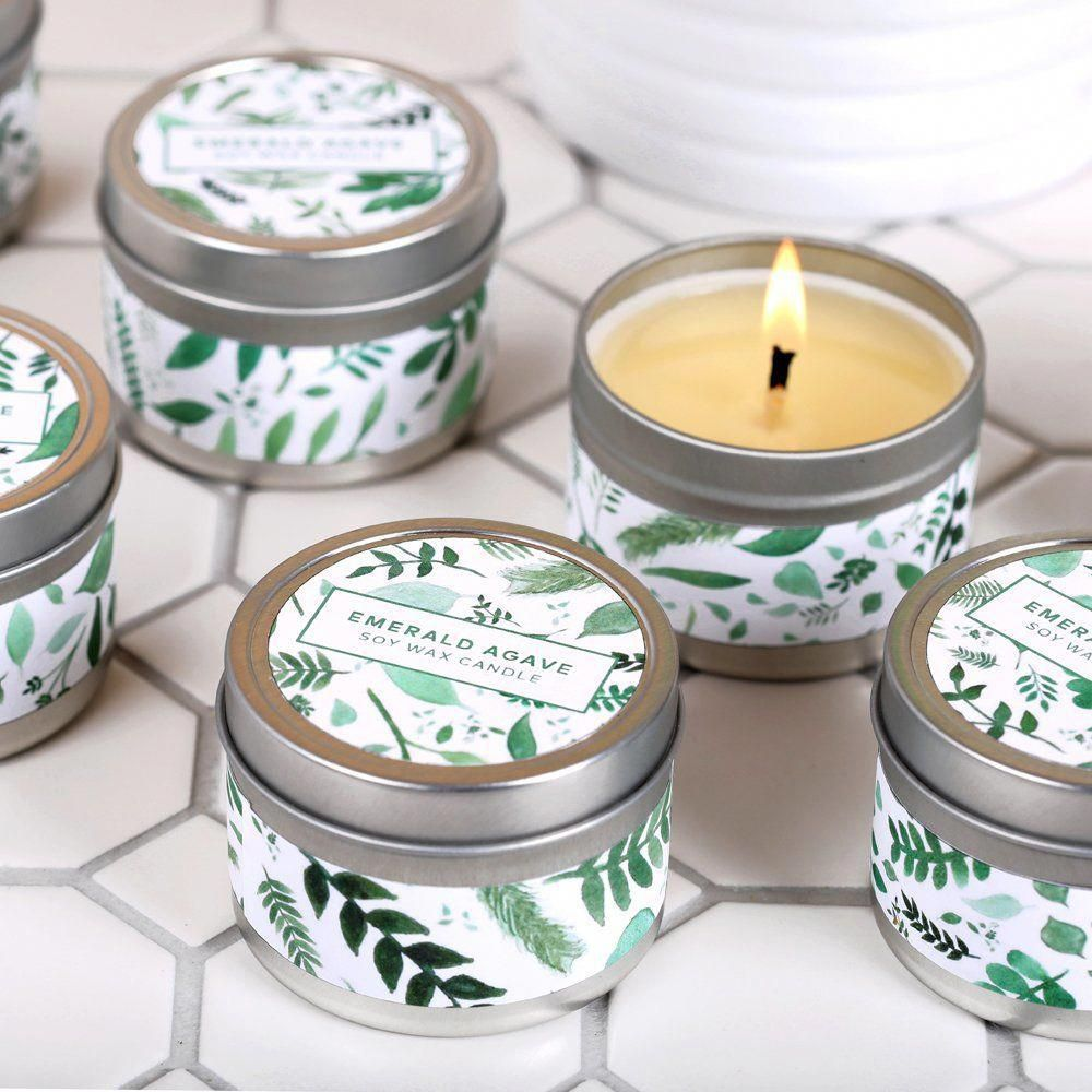Emerald Agave Candle Kit candlemakingtips Candle kits