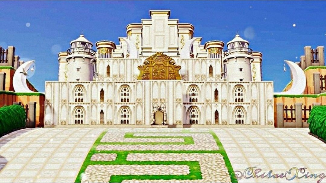 Acnh castle in 2020 animal crossing qr animal