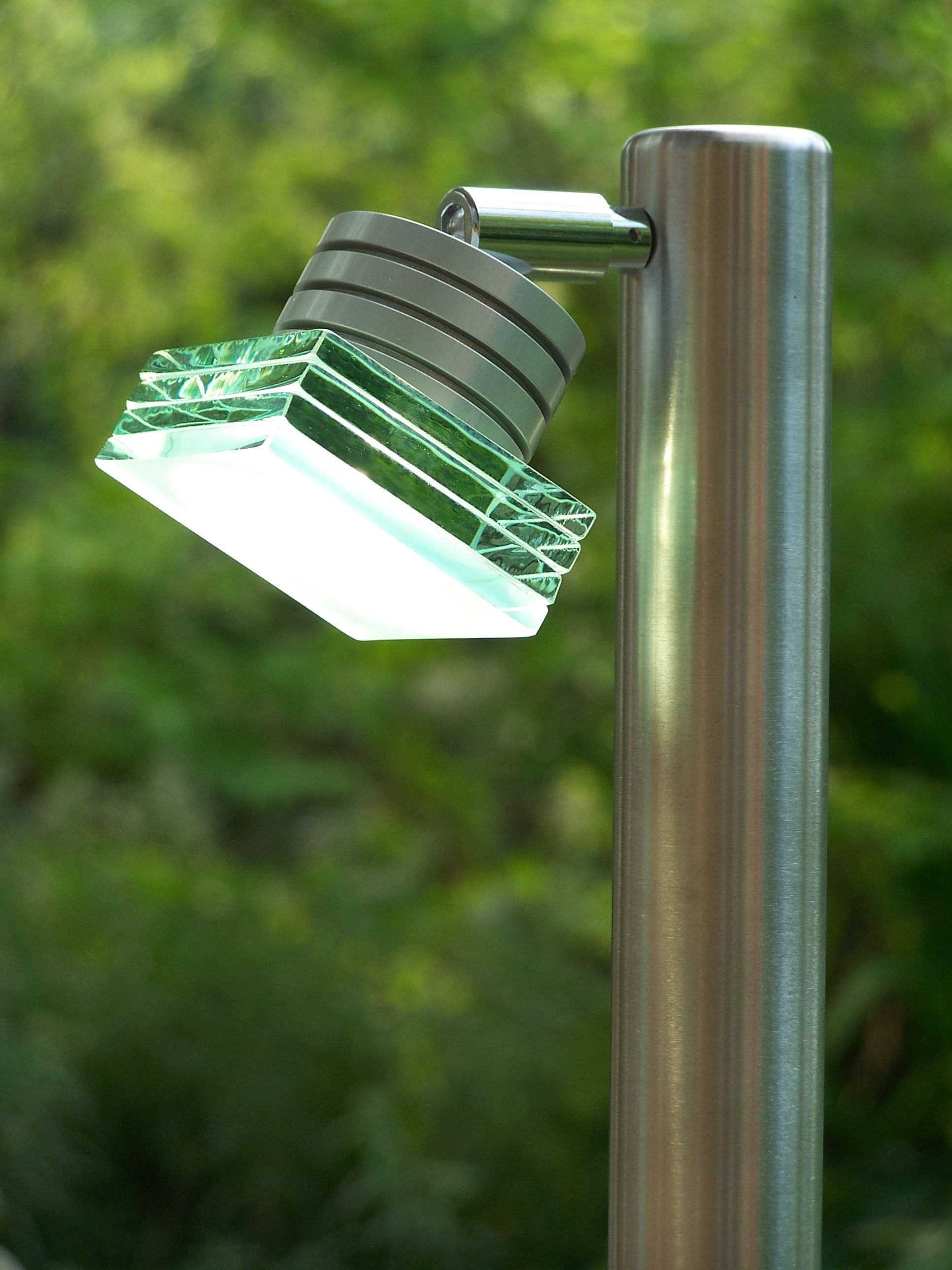 Fully adjustable led stainless steel border light for Driveway landscape lighting