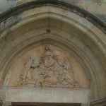 facade de l'eglise de Riscle 32
