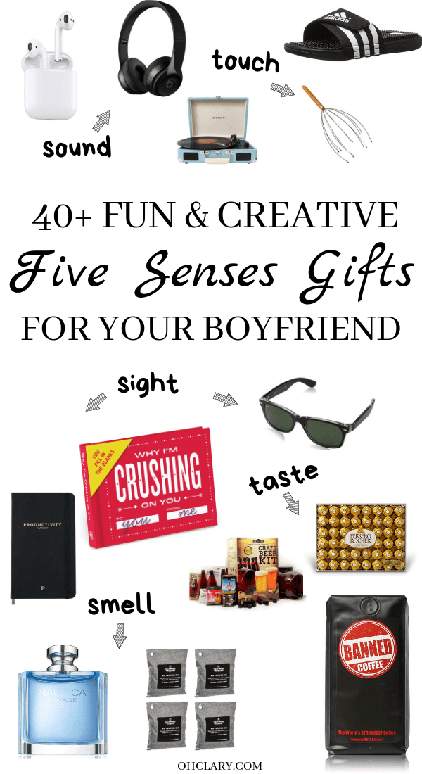 5 Senses Gifts For Him That He Will Actually Find Useful